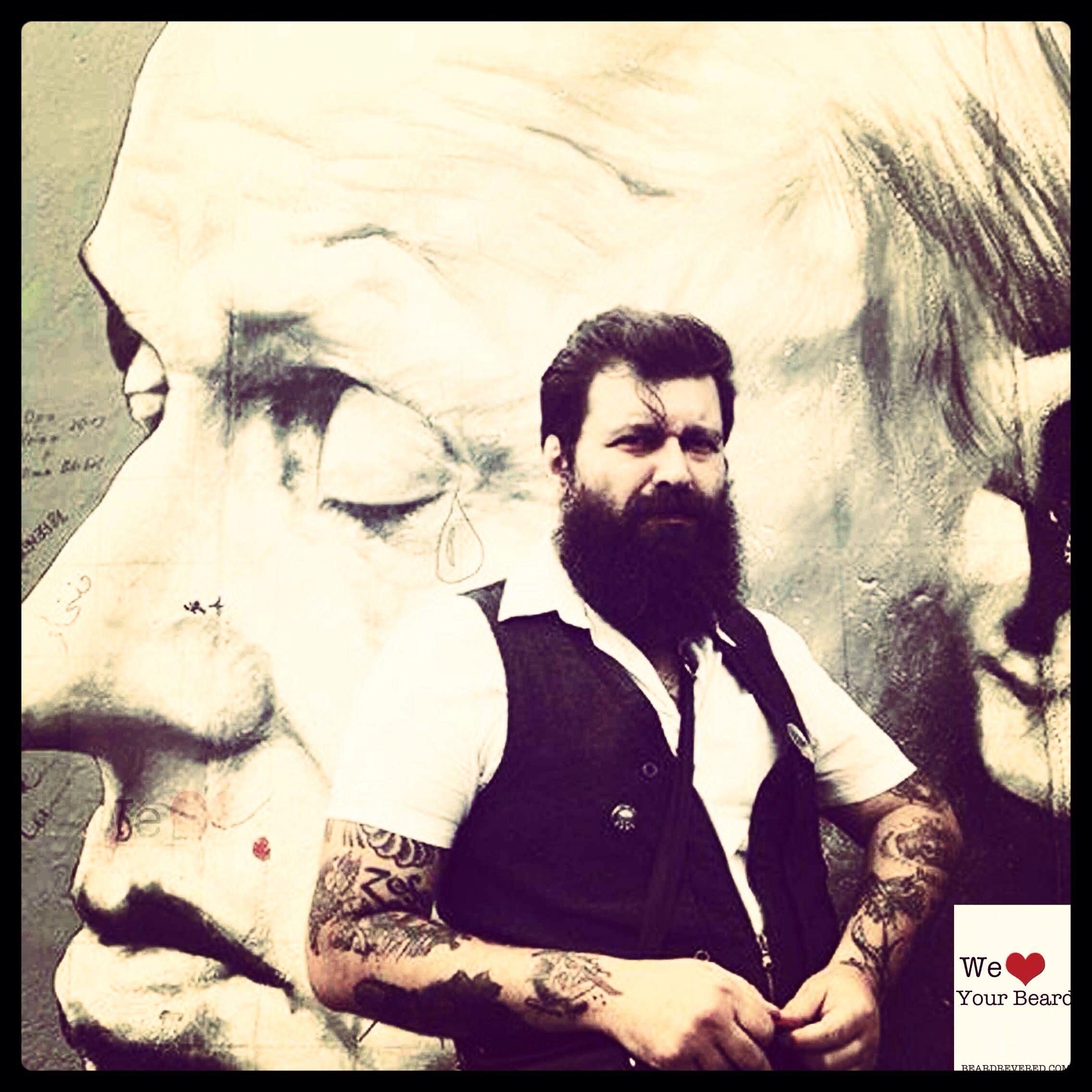 Beards Men Ink Street Art Beards Pinterest