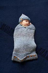 lavori a maglia, 10 tutorial per fare un sacco nanna da neonato