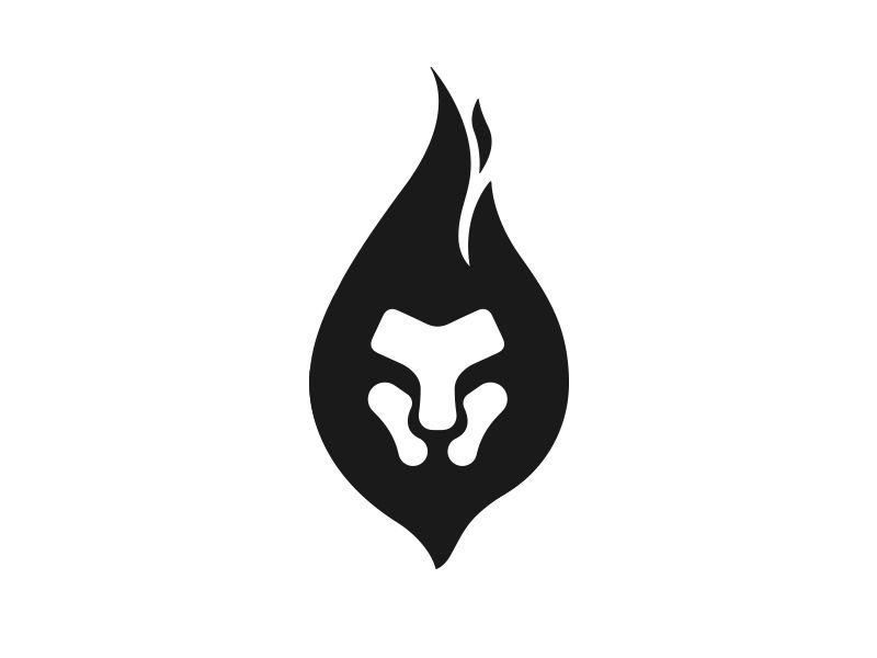 Lion Flame | tattoo | Logos, Lion logo e Lion tattoo design
