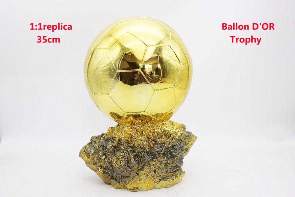 Mr Fussball Trophae 1 1 Wirklichen Leben Grosse 35 Cm Ballon D