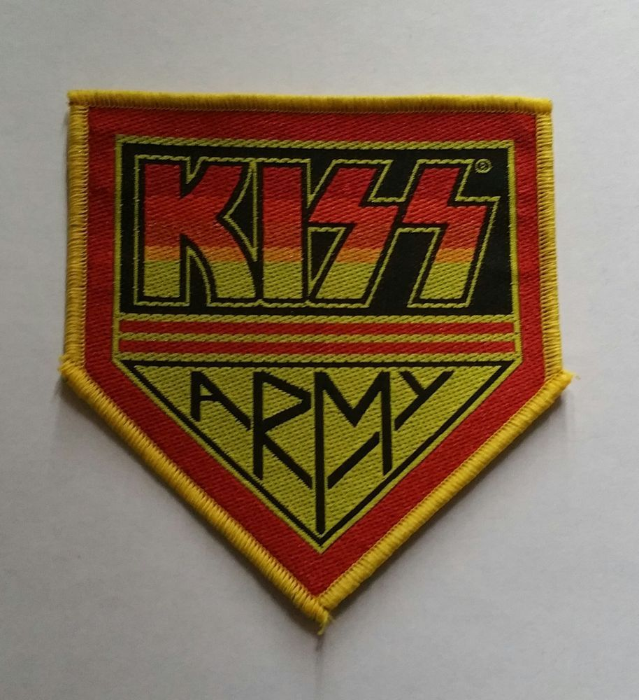 Gallery images and information soundgarden badmotorfinger tattoo - Kiss Sew On Patch Kiss Army Patches Official Band Merchandise More