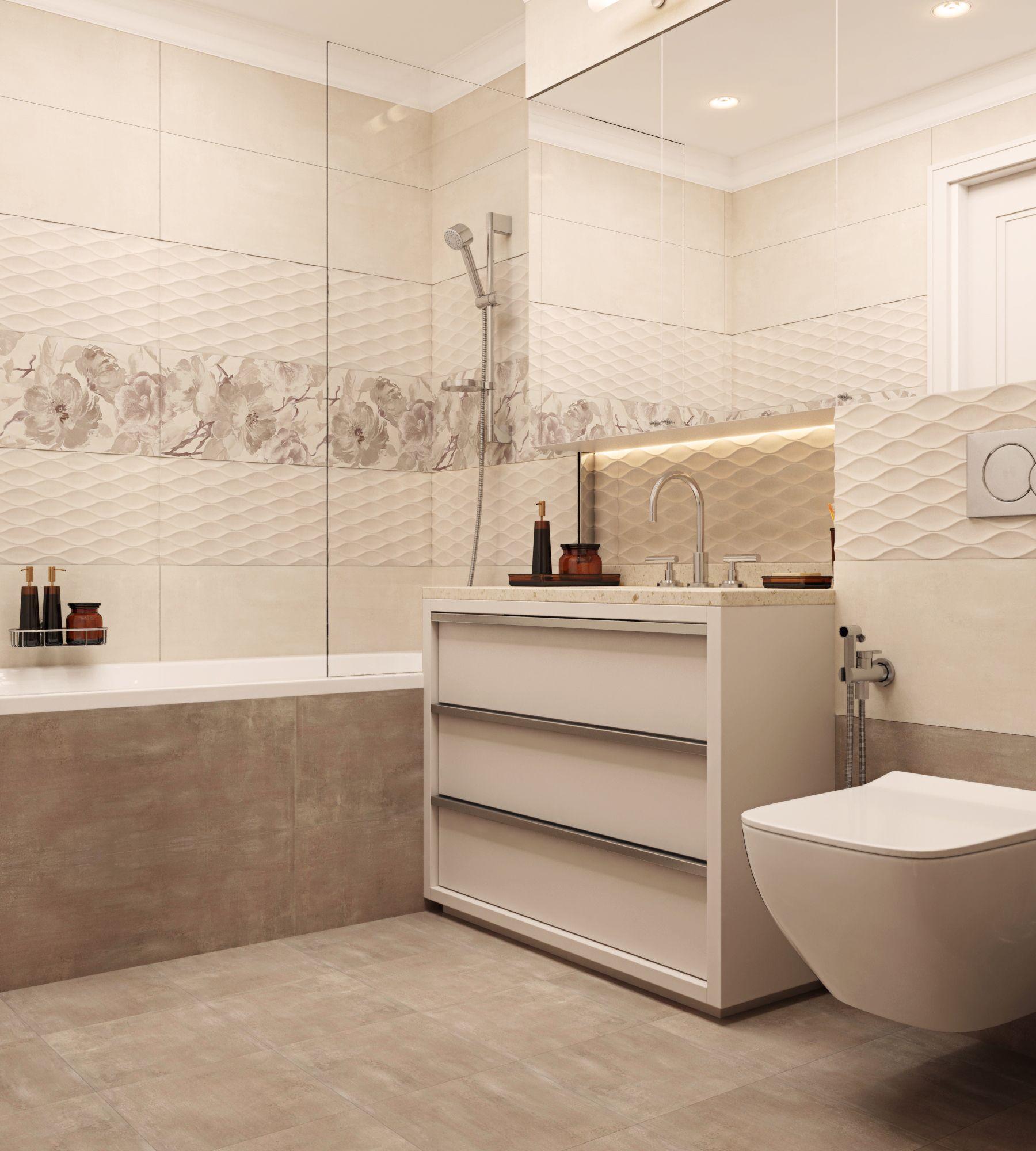Интерьер жилого дома Галерея 3dddru: Ванная - Галерея 3ddd.ru