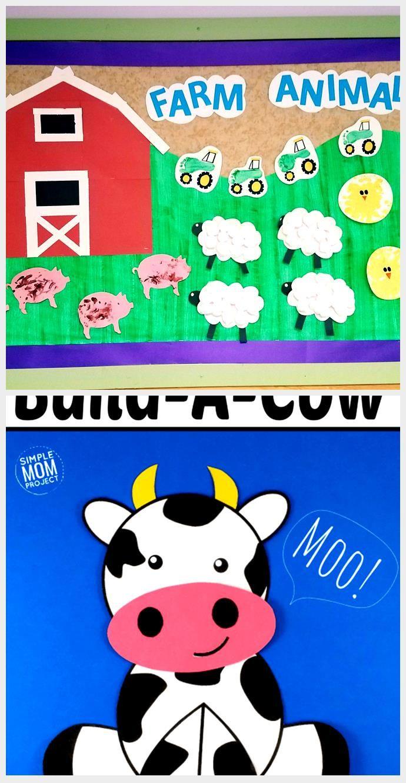 Farm animal bulletin board. Amazing Animals unit. Infant classroom. Farm animal bulletin board. Ama