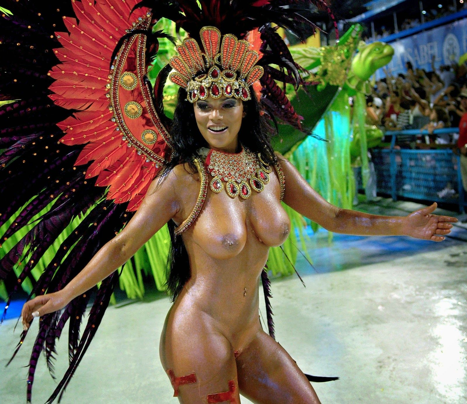 Naked girls of brazil festival hope