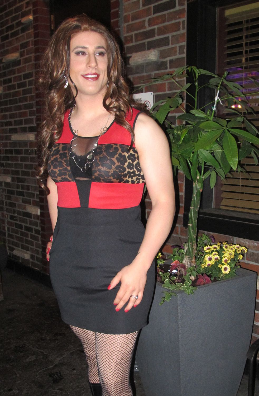 Crossdresser Diana Vandenburg Outdoors Procrossdresser