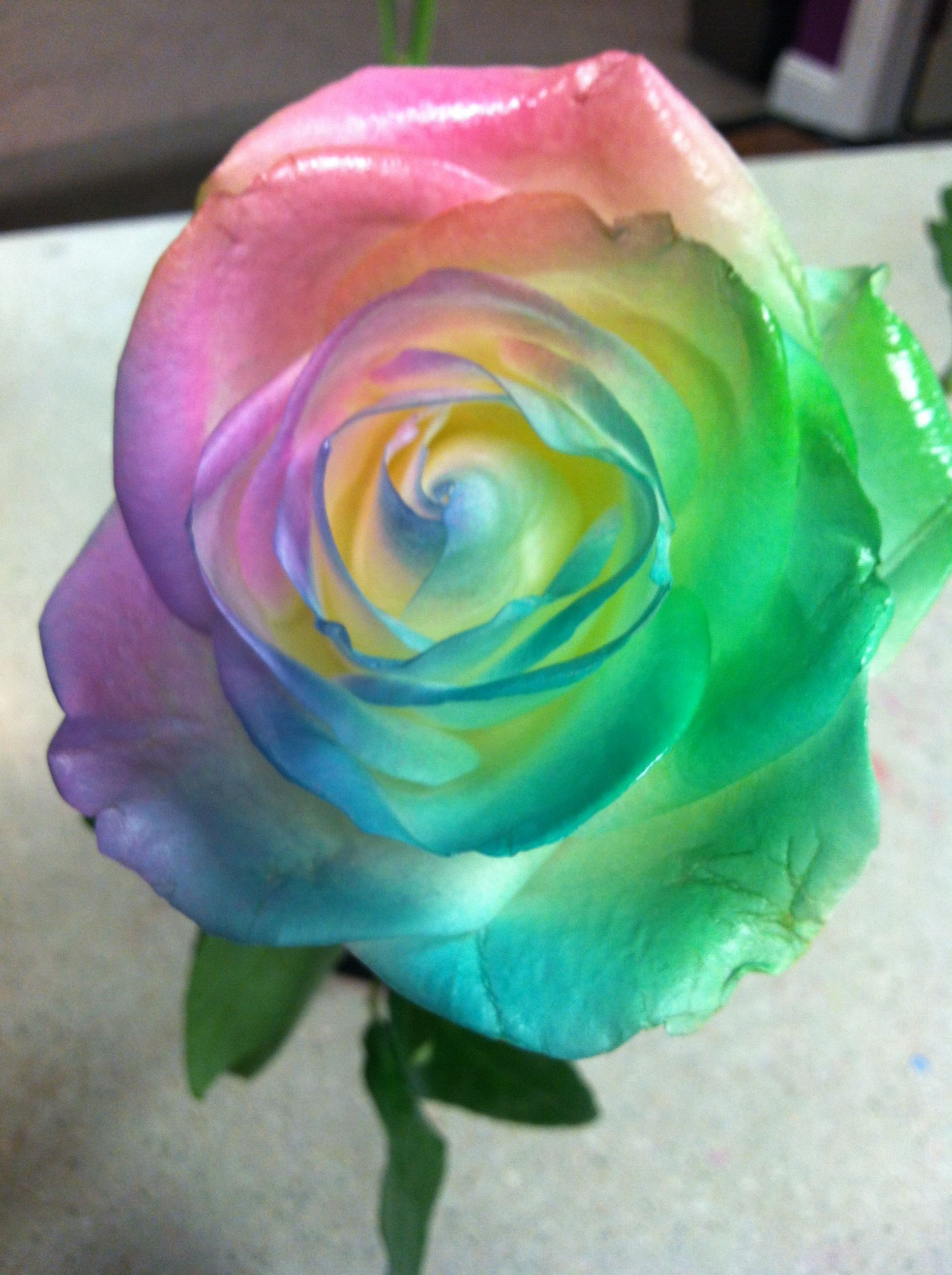 Tie dye flowers event thoughts pinterest money we for How to make tie dye roses