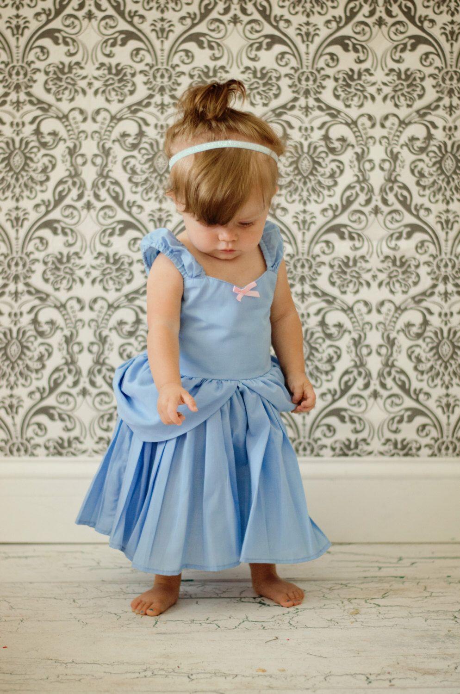 CINDERELLA dress, Cinderella costume, Cinderella birthday party ...