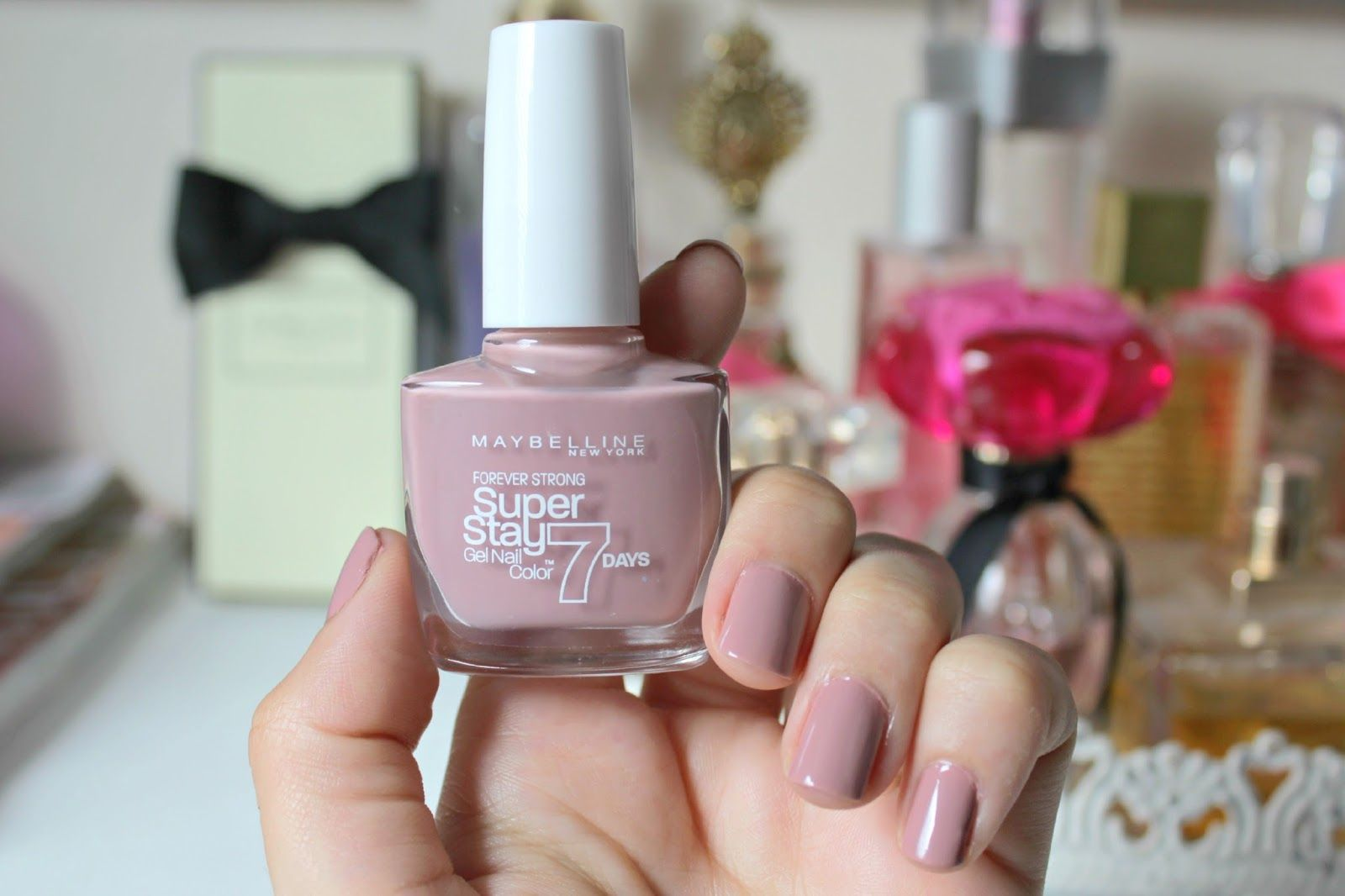 Maybelline Superstay 7 Day Gel Nail Polish Rose Poudre Nail Polish Gel Nail Polish Gel Nails