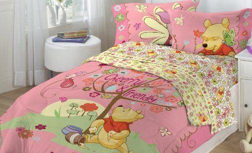Disney Winnie The Pooh Eeyore Baby Toddler Bedding Set 100/% COTTON cute