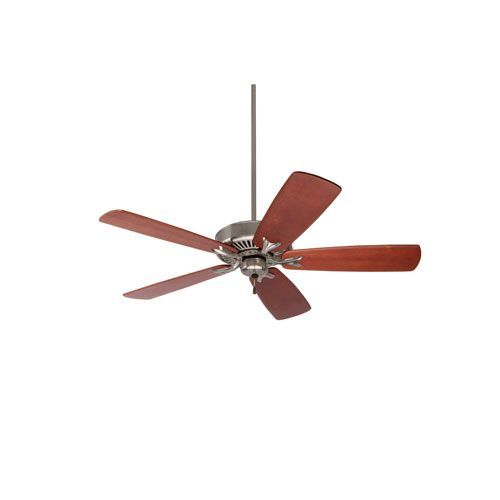 Premium select brushed steel 54 inch ceiling fan with walnut solid premium select brushed steel 54 inch ceiling fan with walnut solid wood blades ceiling fan emerson and ceilings aloadofball Image collections