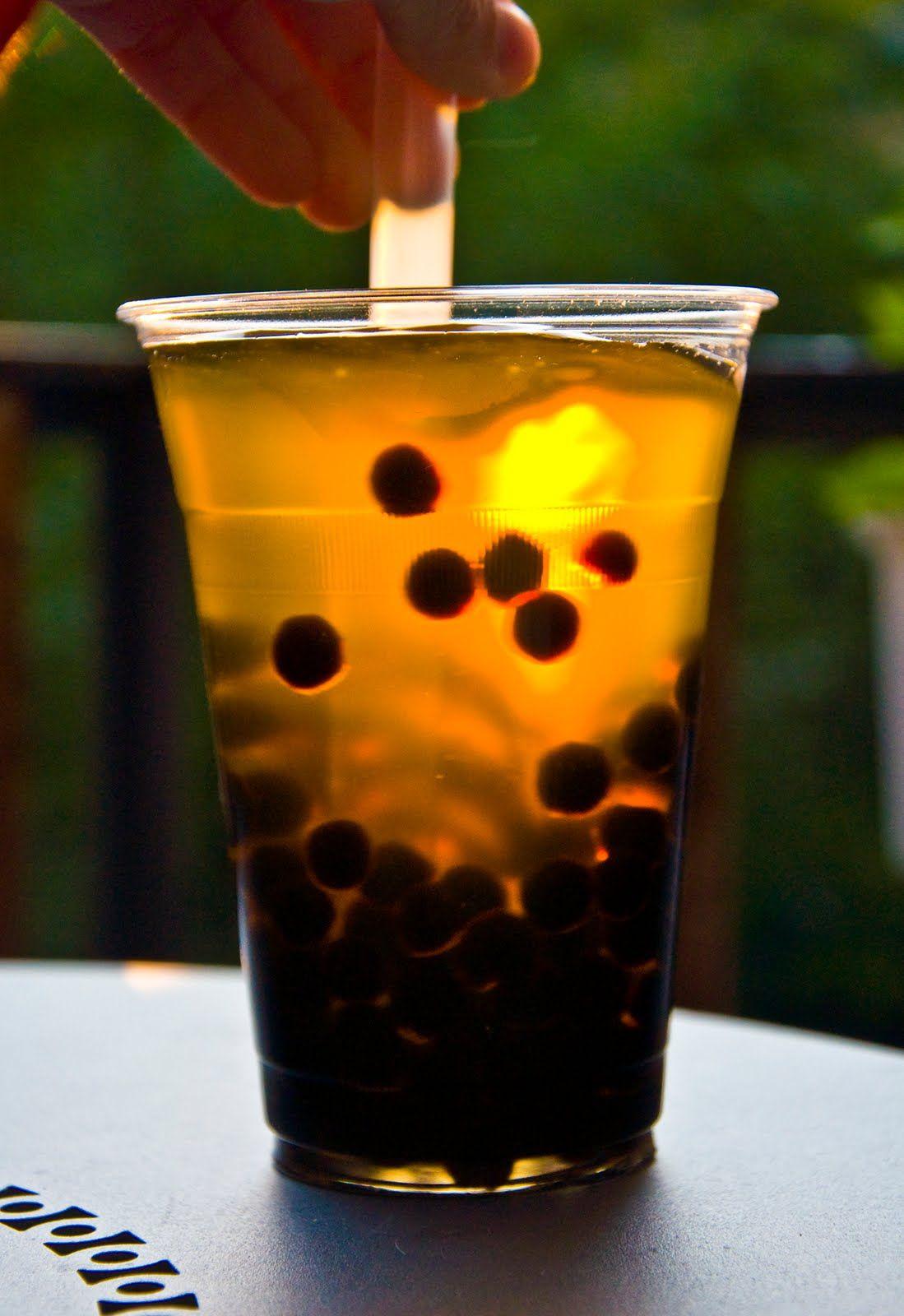 Bubble tea bubble tea bubble tea boba iced green tea
