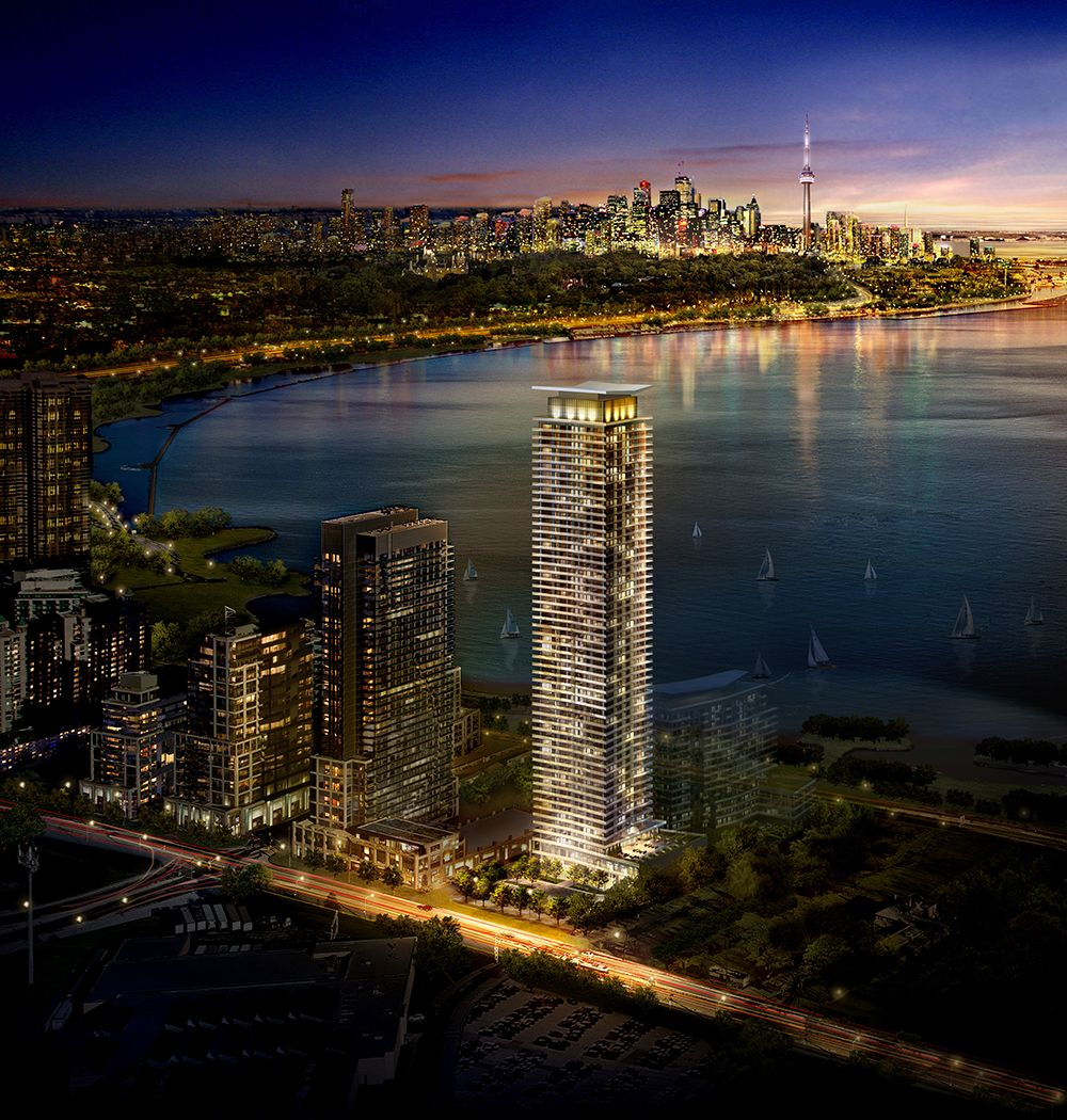 New Condos And Apartments Rise Up Around: Water's Edge Condo In Etobicoke By Lake Shore & Park Lawn