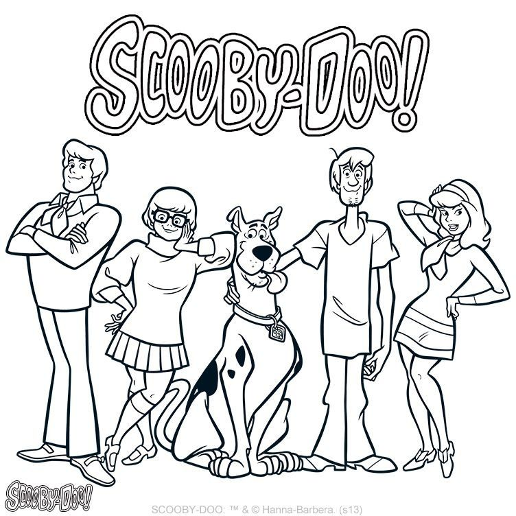 scobby doo coloring pages Scooby Doo coloring page | Scooby Doo | Scooby doo coloring pages  scobby doo coloring pages