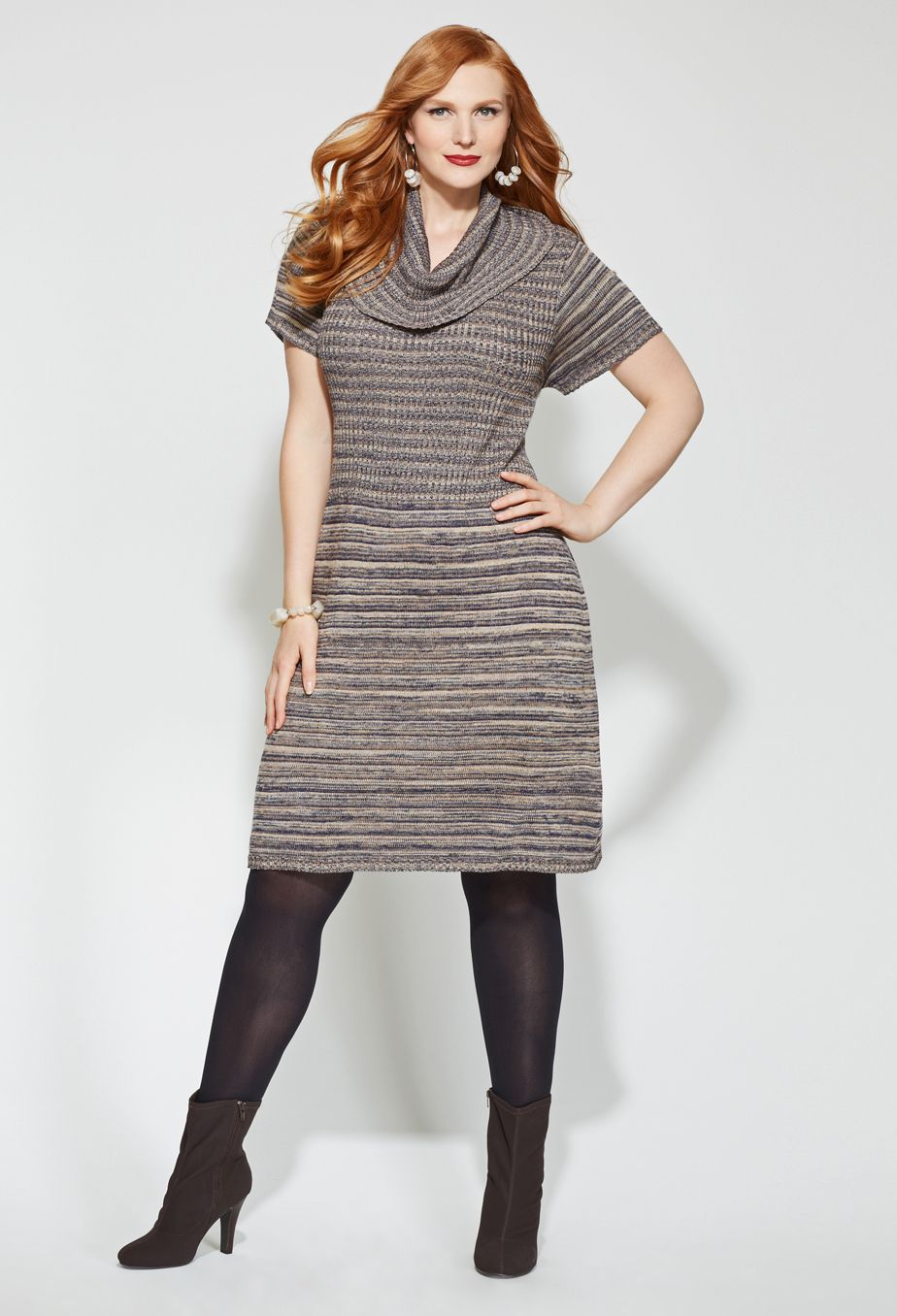 Space Dye Sweater Dress Plus Size Dresses Sweater Dress Winter Fashion Outfits