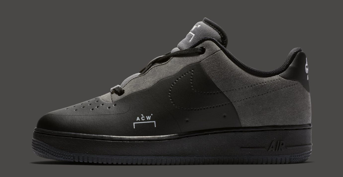 quality design b7b9e 2de79 A-Cold-Wall x Nike Air Force 1 Low BlackDark
