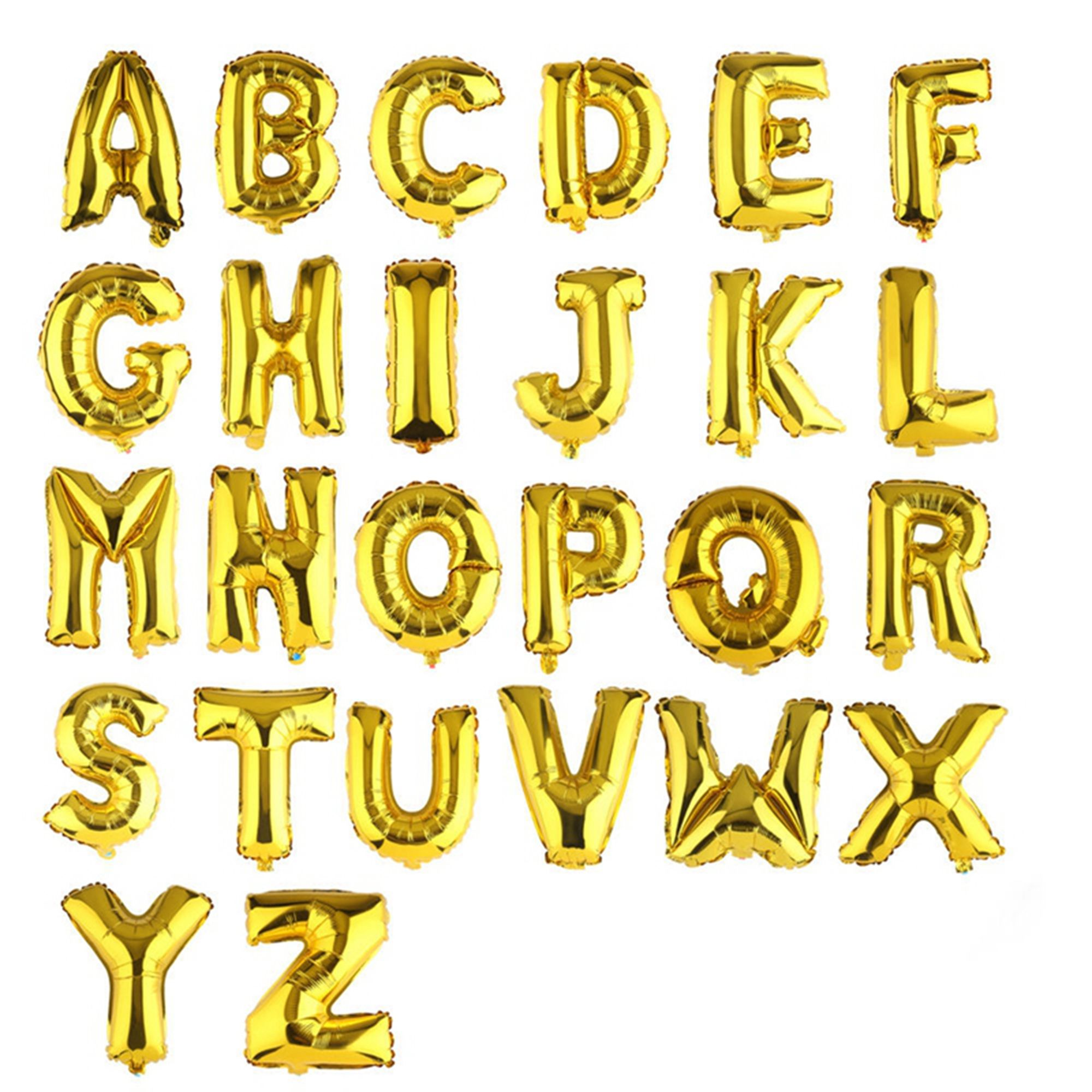 Party Occasions In 2020 Letter Balloons Helium Balloons Birthday Gold Letter Balloons