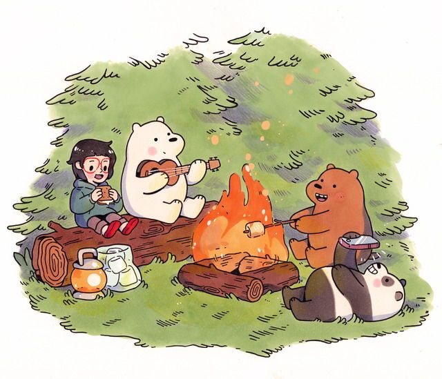 Pin by Nkt8 on FANART We bare bears, Ice bear we bare