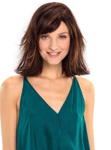Le marron teinté de roux (Coiff&Co)   haircolor   Cheveux, Couleur cheveux tendance et Coiffure ...
