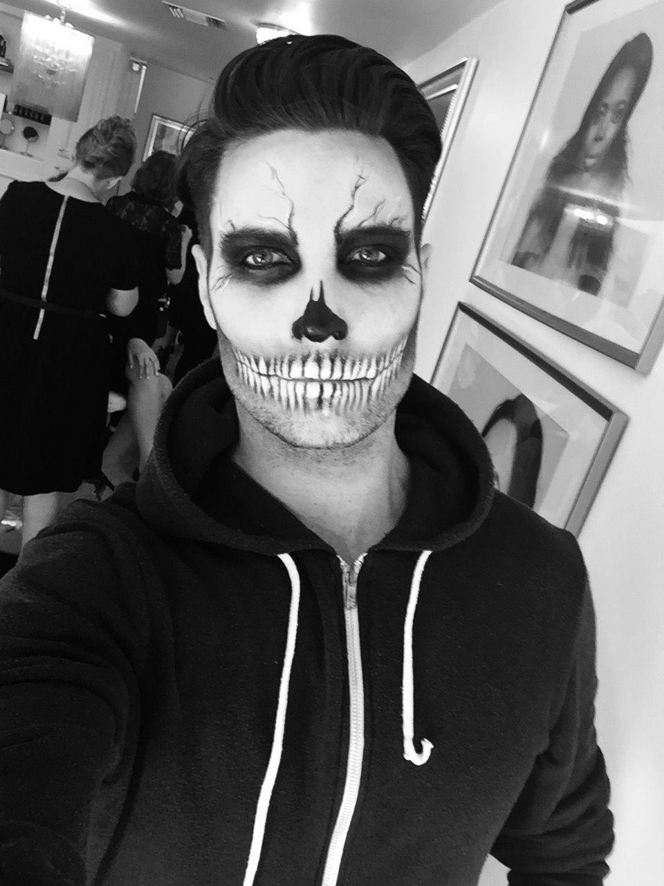 Last Minute Halloween Makeup Maquillaje halloween hombre