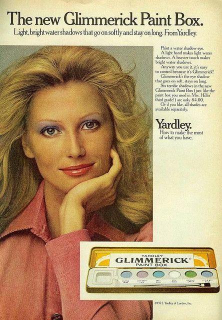 Glimmerick Paint Box With Images Vintage Makeup Ads Vintage