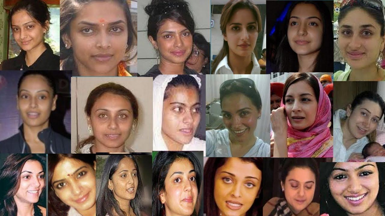30 indian actress without makeup latest pictures | bollywood