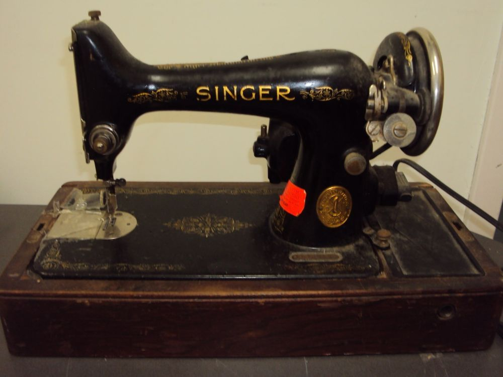 Vintage Singer 99 Sewing Machine Knee Controller With ...