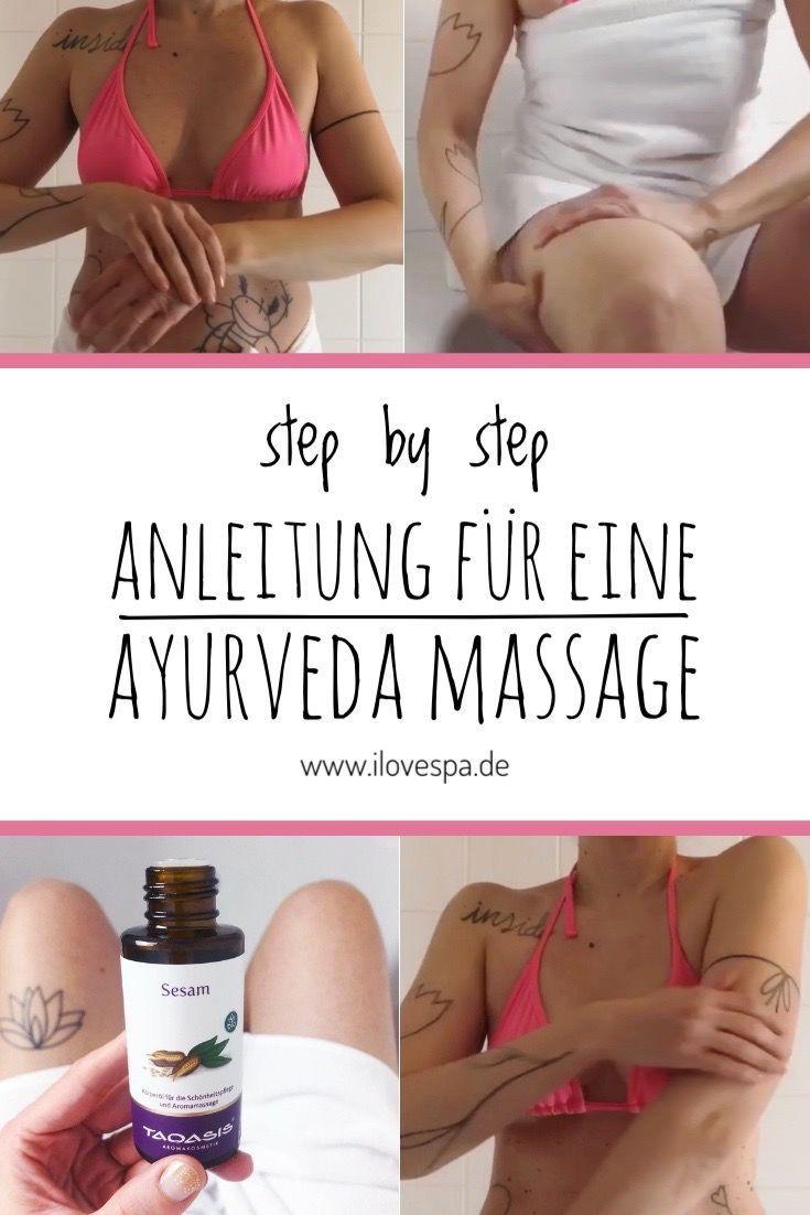 DIY Abhyanga mit Sesamöl – Ayurveda Massage selber machen