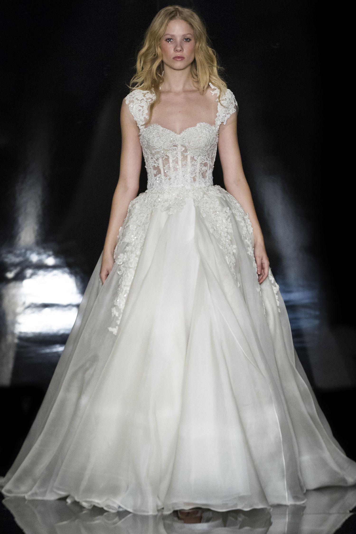 Reem Acra - Bridal Collection - Look 27 – Alia | Stylish Wedding ...