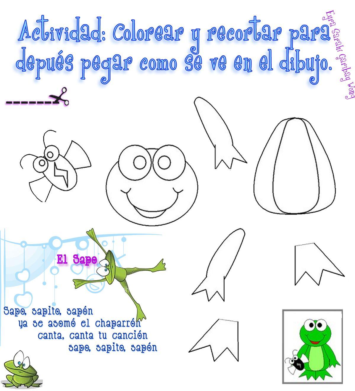 El Lenguaje de los Niños: Rimas para Preescolar con dibujos ...