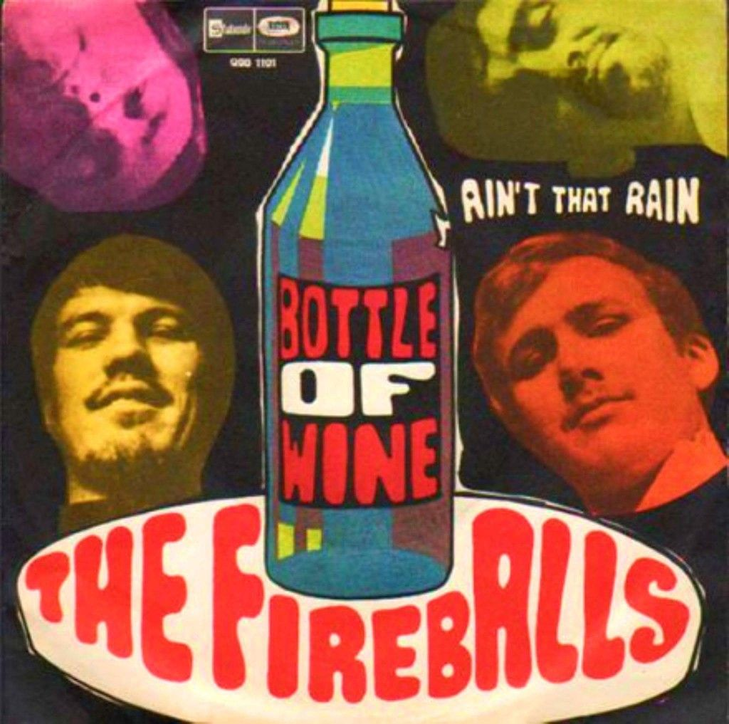 Released On June 24th 1967 Bottle Of Wine Is A Song Written By Tom Paxton Performed By The Fireballs The Song Rea Wine Bottle 100 Songs Billboard Magazine