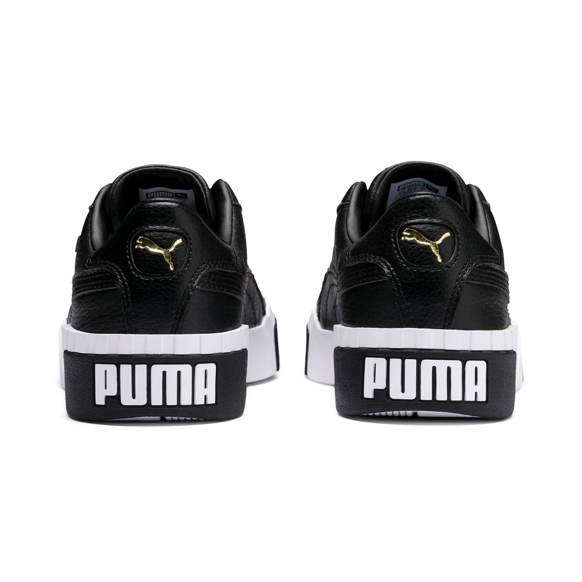 Puma Cali Women S Trainers In Black White Size 6 5 Shoegame Womens Sneakers Trainers Women Puma Cali