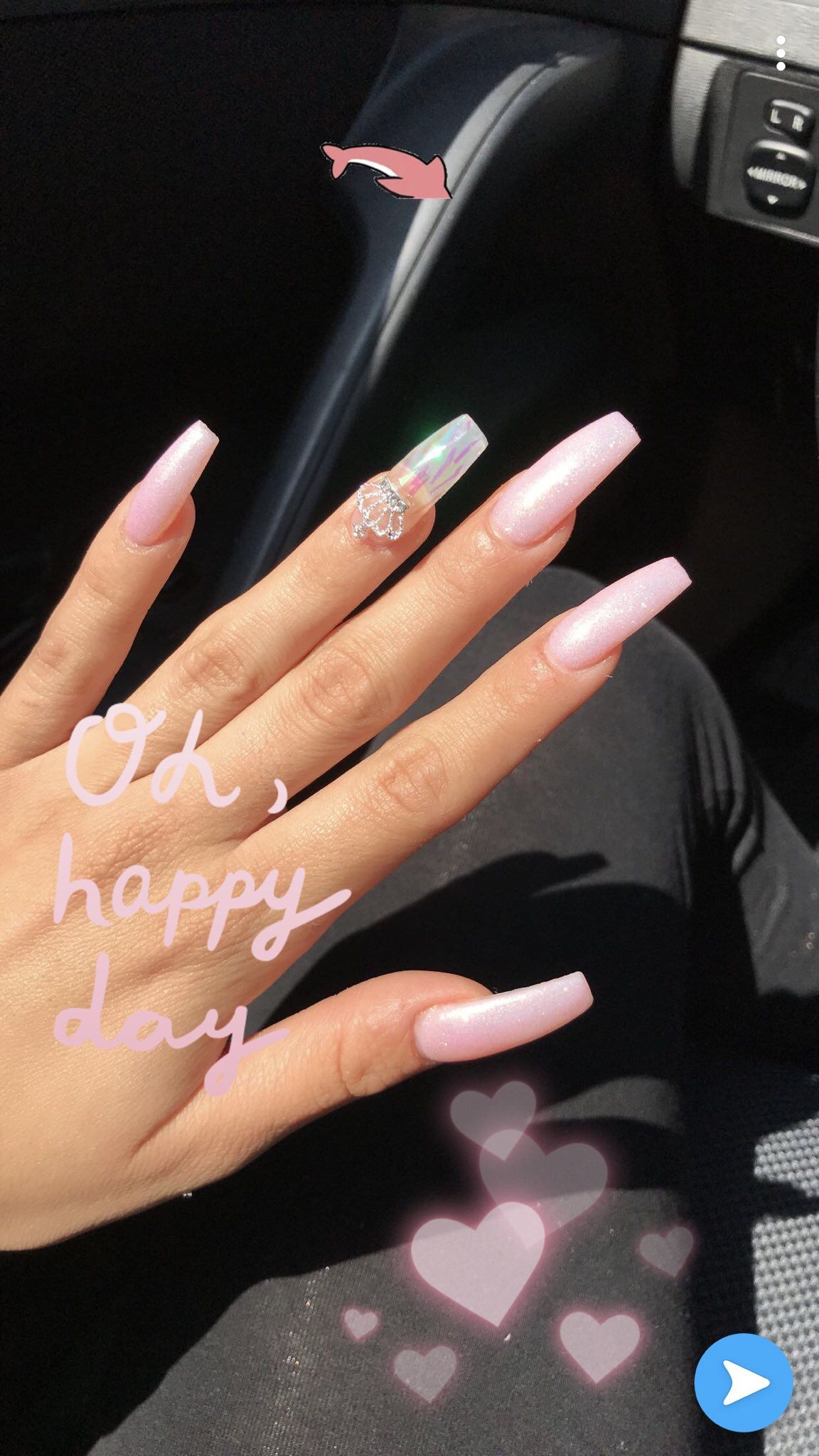 Love Your Nails Mckayla In 2019 Coffin Nails