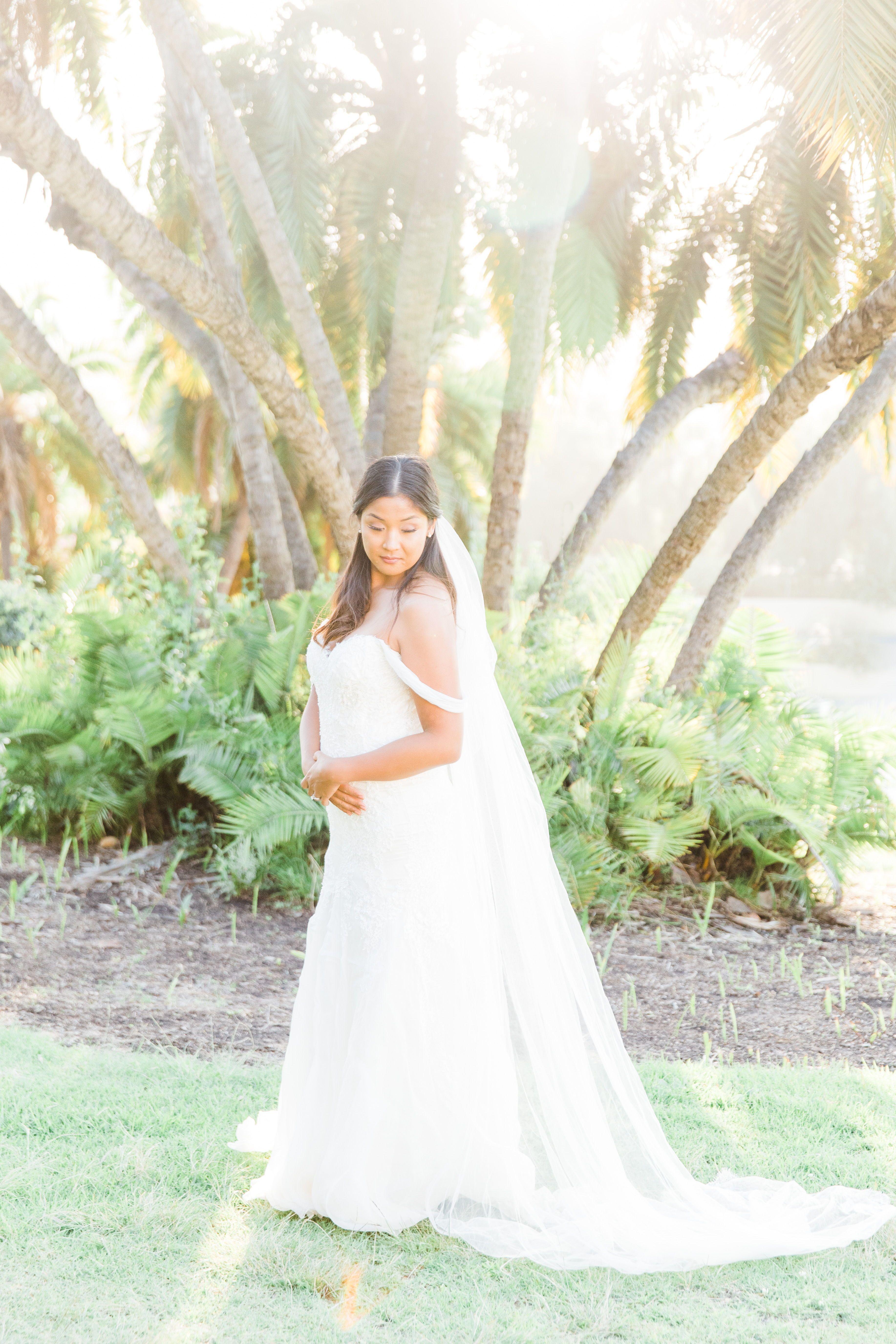 Romantic Wedding at Junipero Serra Museum in San Diego