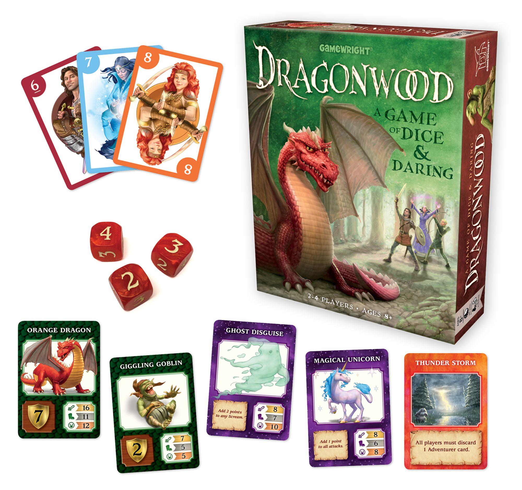 DragonwoodTM Dice games, Fun board games, Games