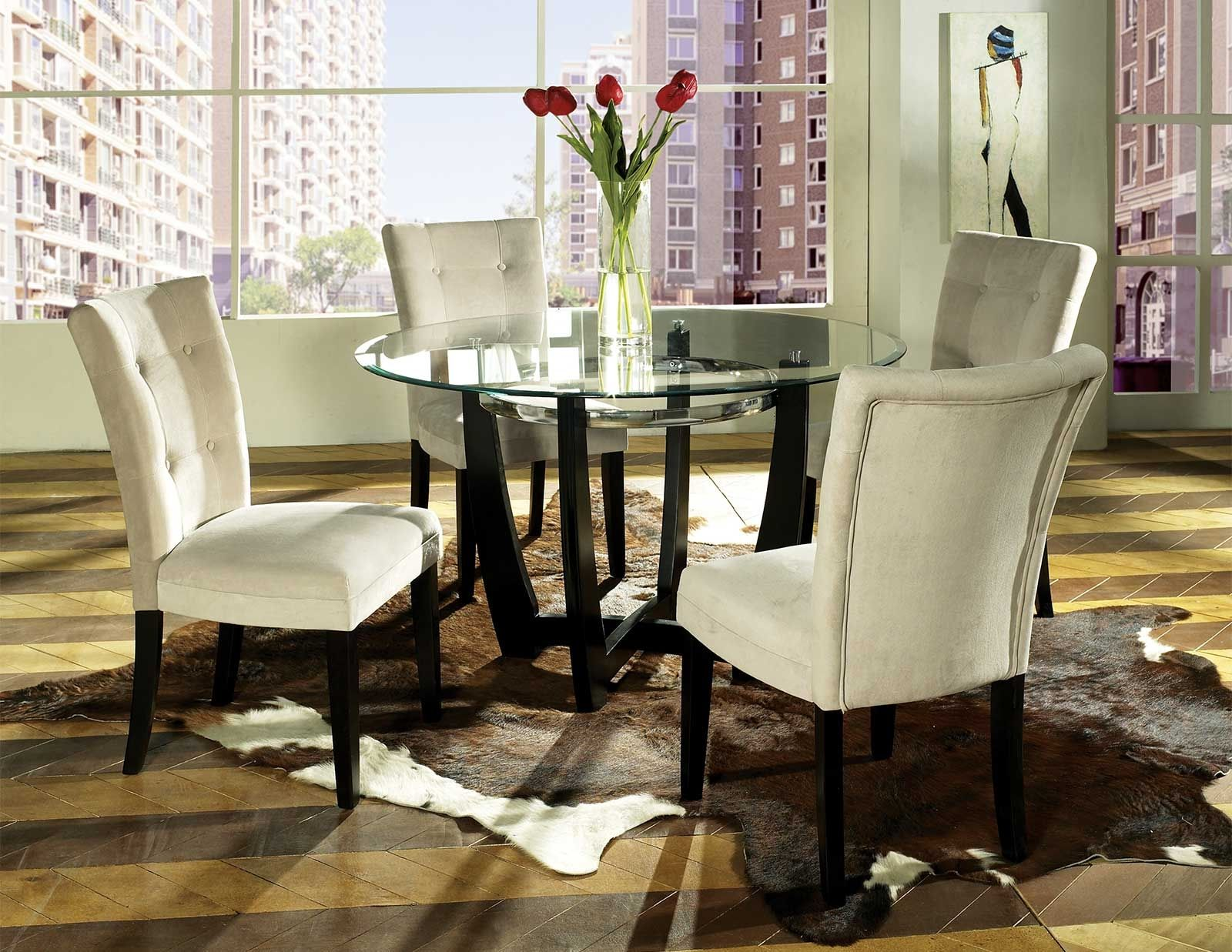 Matinee pc dining table set by steve silver mttbxbepc