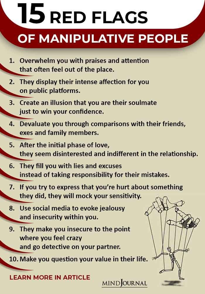 15 Red Flags Of Manipulative People - Mind Journal