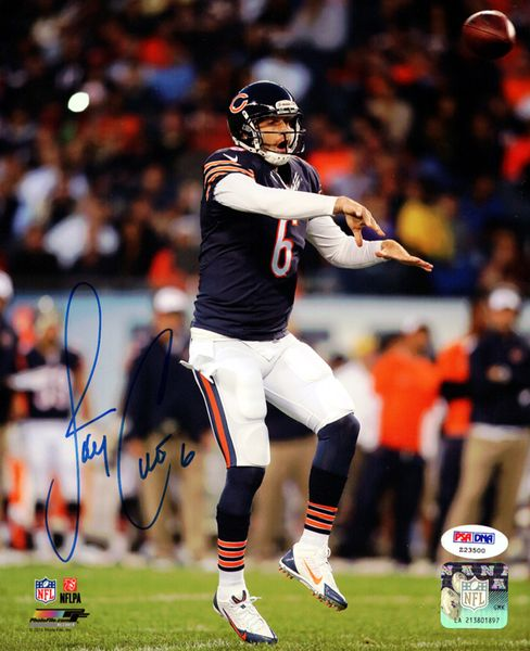 Jay Cutler Autographed 8x10 Photo Chicago Bears PSA/DNA Stock #102500