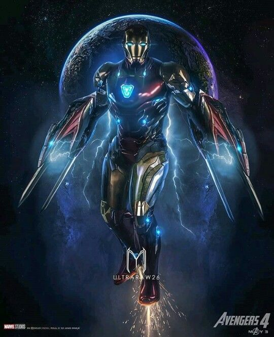 Homem De Ferro Mark 85 Vingadores 4 Filme