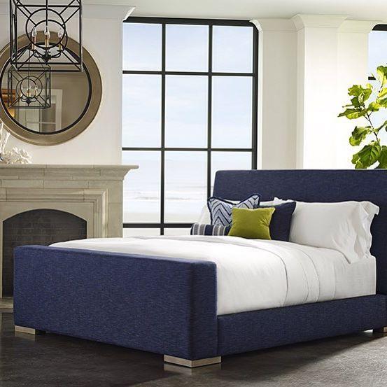 Irvine Platform Bed Upholstered Platform Bed Bedroom Makeover