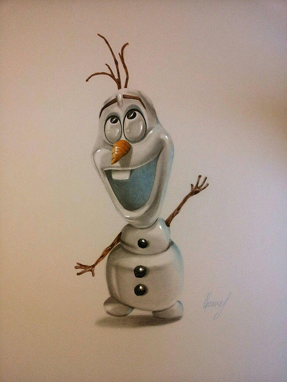olaf frozen olaf drawing zeichnung disney movies