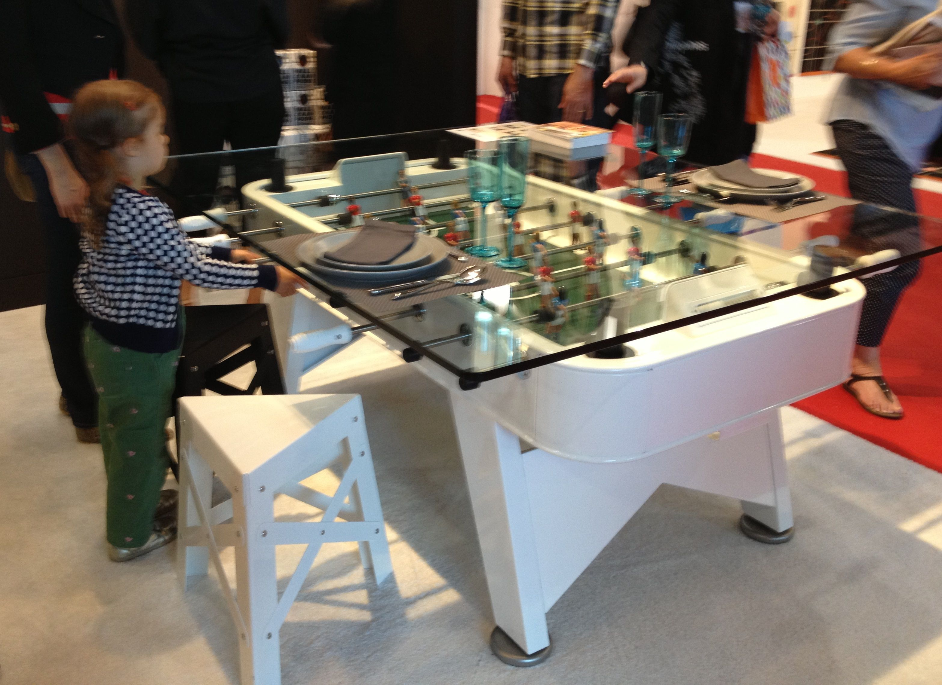 ICFF 2014 RS BARCELONA Foosball Table Customizable and available in an outdoor version