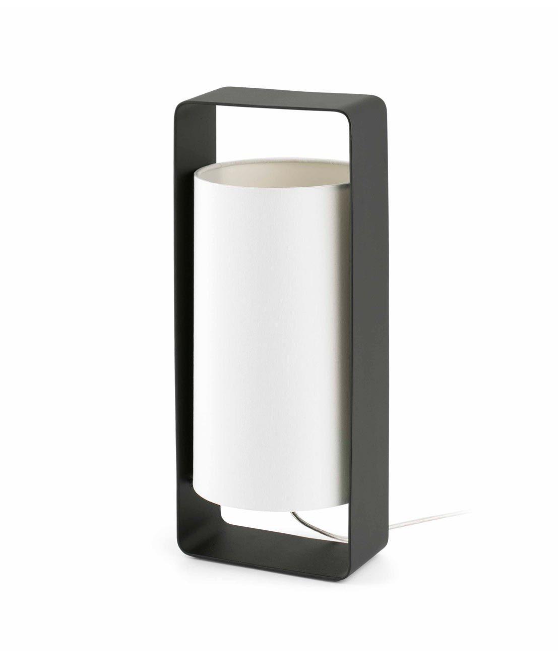 mesa de y negra grande LULALámparas blanca de Lámpara m8w0vNn