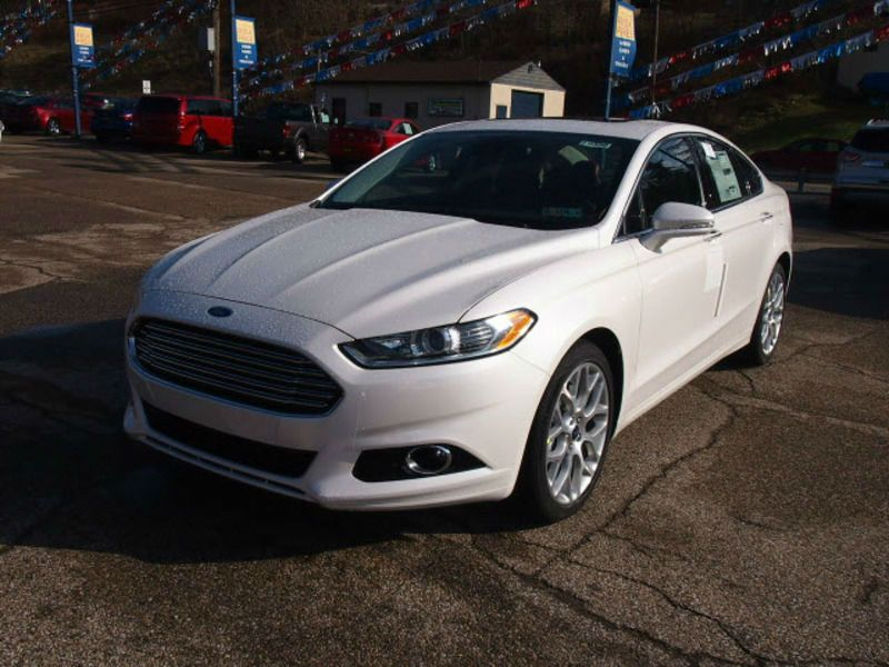 2014 Ford Fusion White With Images Ford Fusion