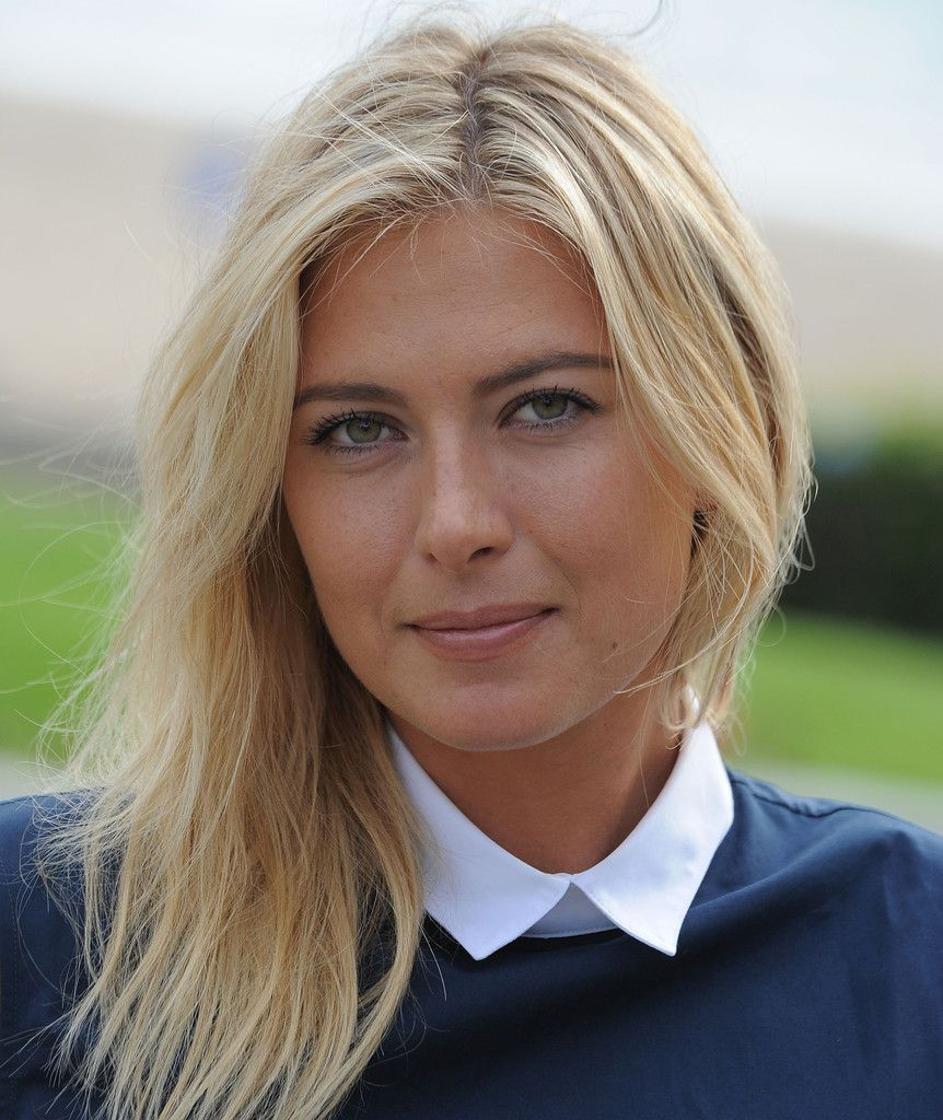 Maria Sharapova Photos Photos Maria Sharapova Poses For