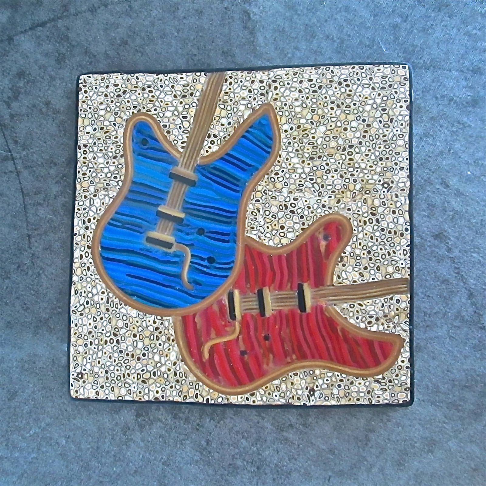 https://flic.kr/p/FXgr5t | Rock & Roll Wall Tile by Deb Hart ...