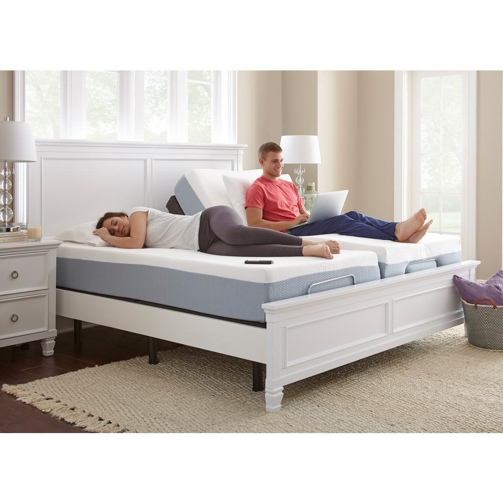 Premium Lifestyle Split King Bed Base, Black