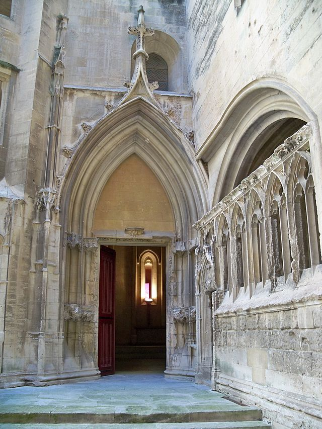 Cour d 39 honneur porte de la chapelle basse ch teau fort de tarascon bouches du rh ne - Porte de la chapelle five ...