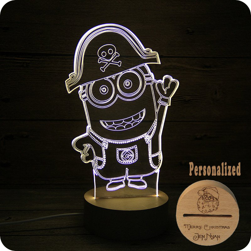 Ruler Cartoon Lights LED 3D Lettering Light Holiday Gift Light ...
