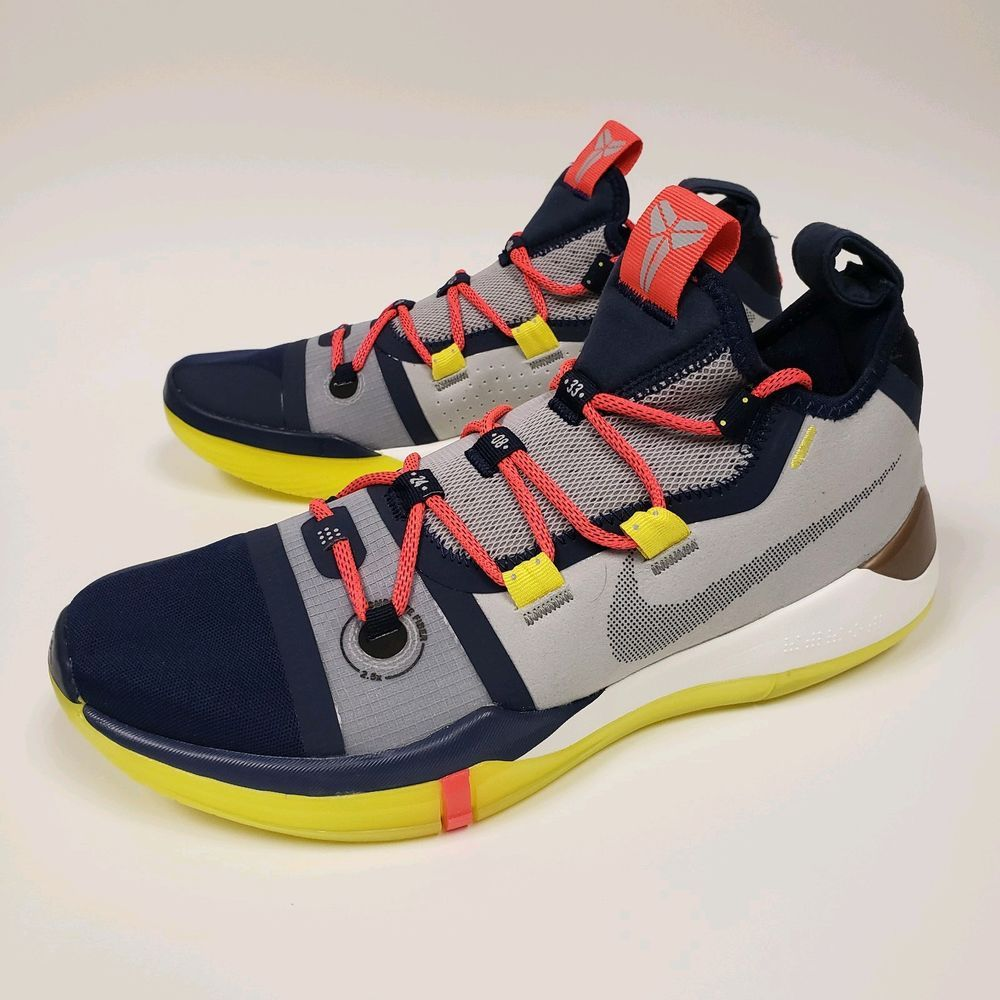 cb7363cba3fa Nike Kobe AD Exodus The Legacy Continues Sail Multi-Color AV3555-100 Mens  9.5