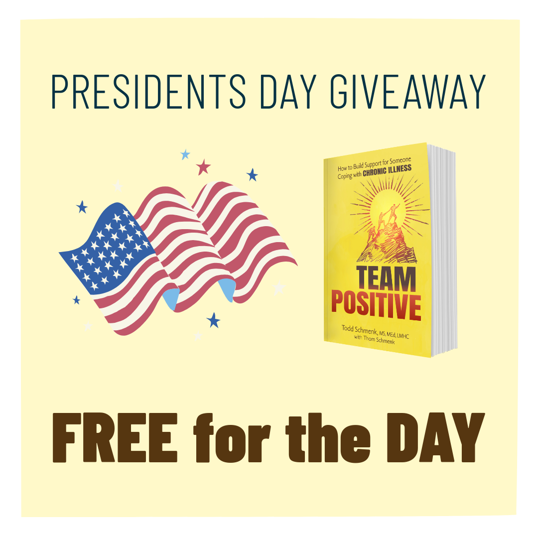 """Get """"Team Positive"""" for free today only! PresidentsDay"""